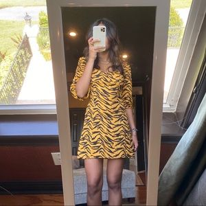 Reformation Tiger Print Dress